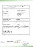 Zertifikat Prüfverein Verarbeitung ökologischer Landbauprodukte e.V.