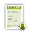 Zertifikat Greenpeace